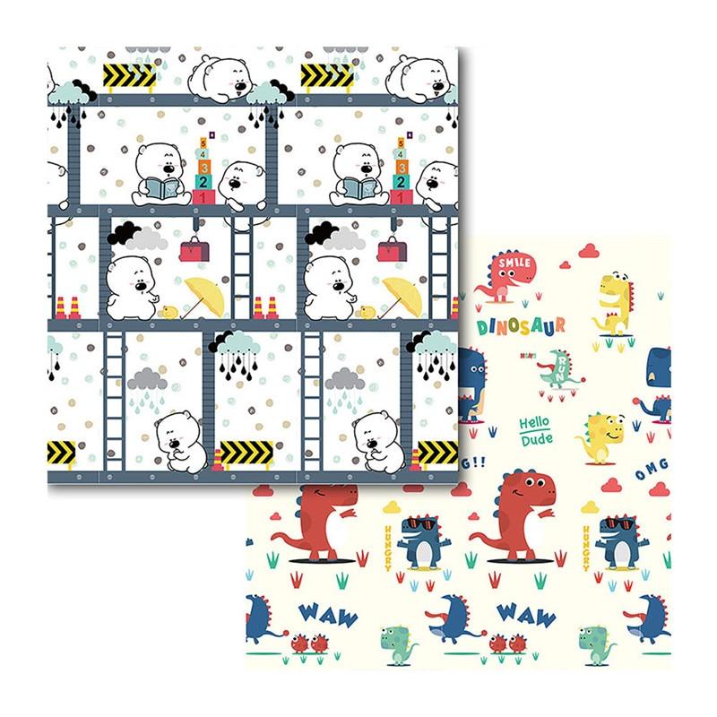 Bébé Ramper Tapis Enfant Tapis Brillant Bébé Jouer XPE Tapis Puzzle Épaissie Chambre de Bébé Ramper Pad Pliage Tapis Bébé Tapis