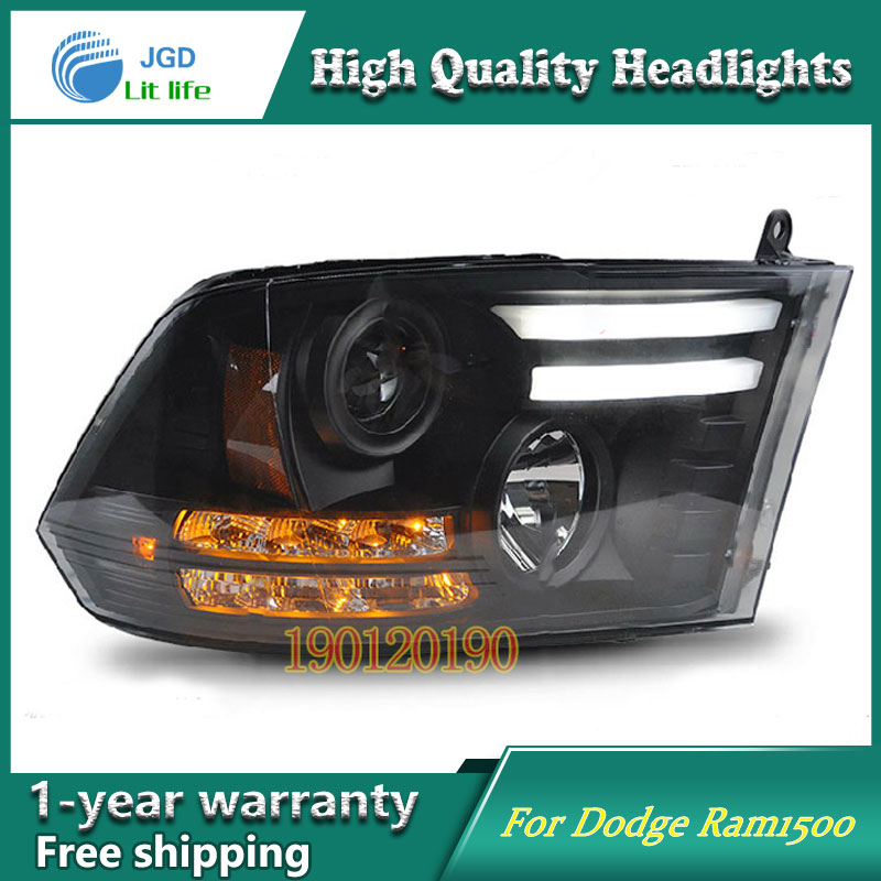 JGD Brand New Styling for Dodge Ram1500 Ram 1500 LED Headlight 2013-2016 Headlight Bi-Xenon Head Lamp LED DRL Car Lights jgd brand new styling for audi a3 led headlight 2008 2012 headlight bi xenon head lamp led drl car lights
