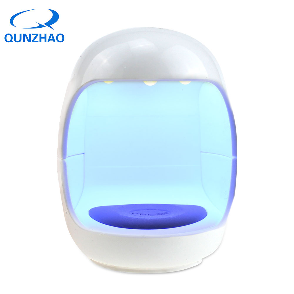 Mini USB Egg Shaped 3W Nail Dryer LED UV Lamp For Curing Nail Gel Polish Dryer Led Light Lamp For Nail Art Tools