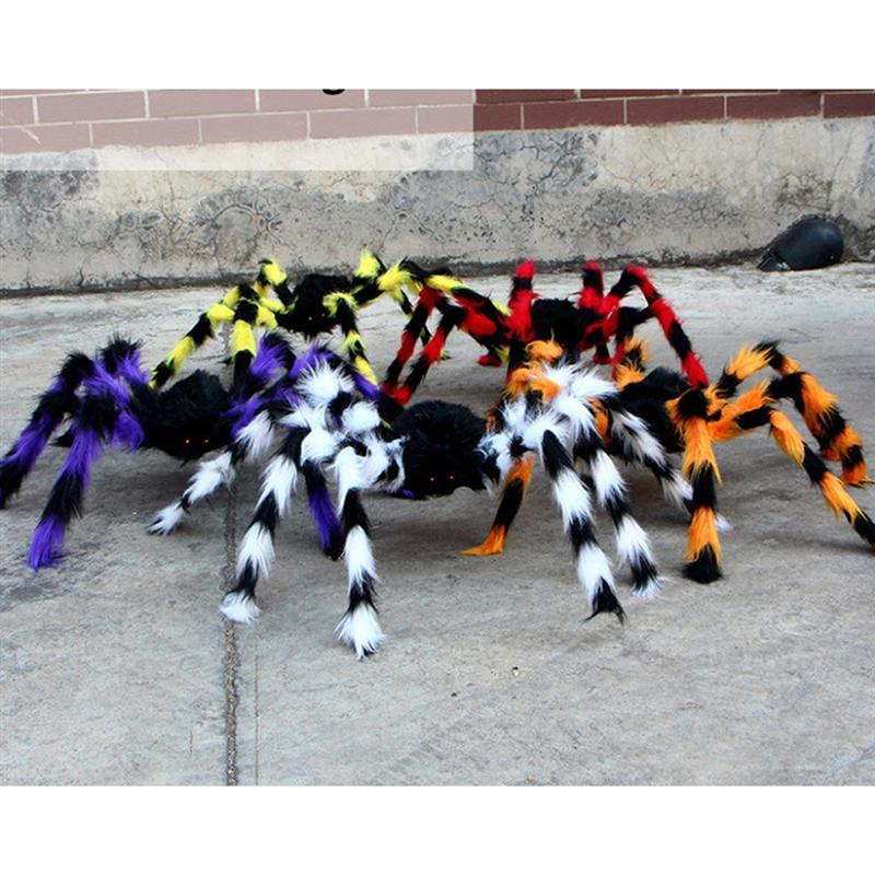 Simulation Spider Fake Scary Spooky Halloween Party