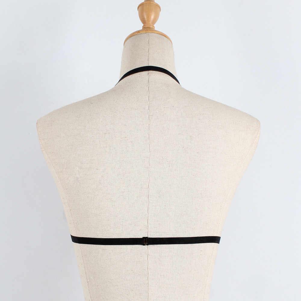 סימן סקסי תחרה תחבושת הלבשה תחתונה מחוך Push Up למעלה תחתונים סקסי ליידי הלבשה תחתונה שמלת תחבושת חגורת חזיית Sheer יבול למעלה