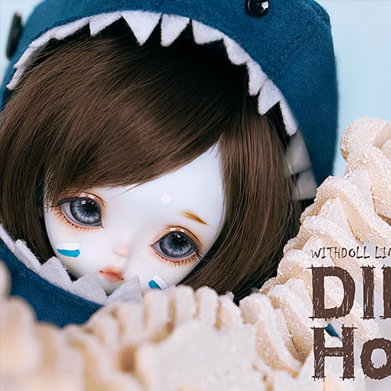 OUENEIFS Dino Holic Azure Withdoll BJD SD Dolls 1/8 Body Model Baby Girls Boys Dolls High Quality Toys Shop Resin Figures