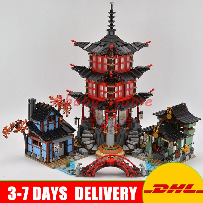 DHL In Stock 2150pcs Lepin 06022 City of Stiix Building Blocks Temple of Airjitzu anime figures Kids Bricks Toys Clone 70603 lepin city town city square building blocks sets bricks kids model kids toys for children marvel compatible legoe