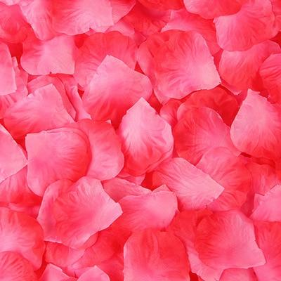 2000pcs/lot Wedding Party Accessories Artificial Flower Rose Petal Fake Petals Marriage Decoration For Valentine supplies 16