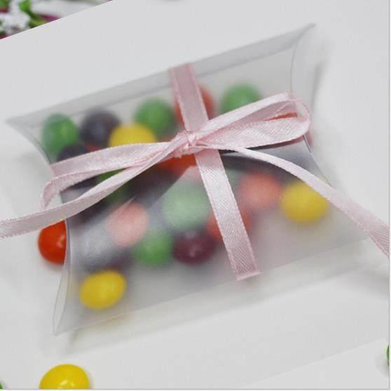 Online Shop 20pcs PVC Birthday Pillow Candy Box Wedding Favor Box ...