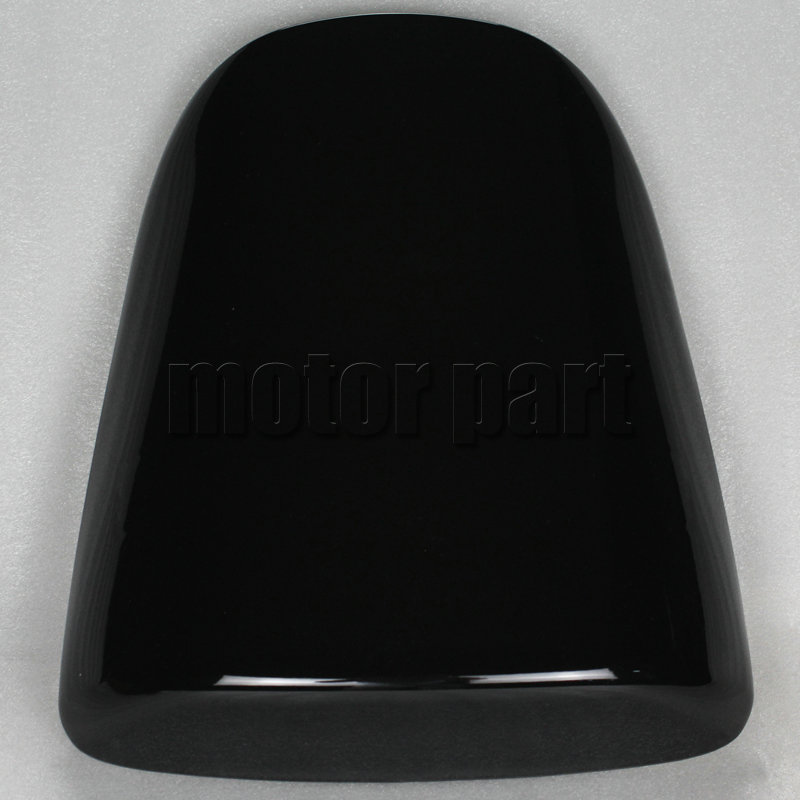 For Kawasaki ZX6R ZX 6R 2000-2002 Motorcycle Rear Passenger Seat Cover Cowl Black 00 01 02 2001 for 2002 2005 kawasaki ninja zx9r zx 9r motorcycle rear passenger seat cover cowl black 01 02 03 04 05