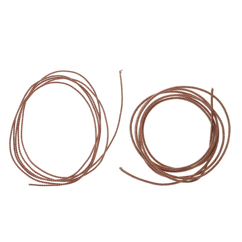 Lead Wire Speaker Subwoofer Braided Copper Leadwire 8 12 Strands Twisted Repair Tool Durable