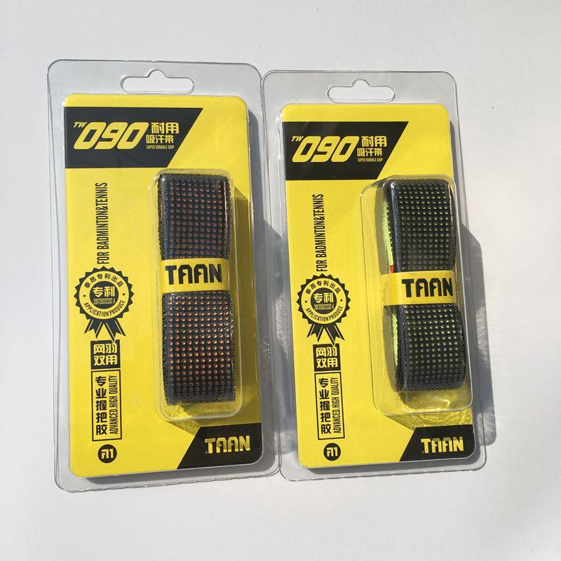 1 Pz Taan Tw090 Badminton Overgrip Racchette Da Tennis Overgrip Racchetta Overgrip Spessore 1.6 Mm Perforato Qualità Durevole