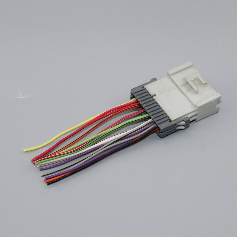 slk350 2006 stereo wiring harness adapter 2006 audi a4 stereo wiring harness plugs into factory harness for kia 2003~2006 radio wire ...