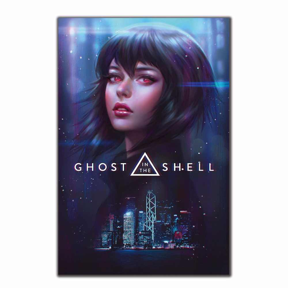 2017 Ghost In The Shell Scarlett Johansson Anime 12x18 24x36 27x40 Poster Art Wall Print Modern Home Decoration Gift Pictures Painting Calligraphy Aliexpress