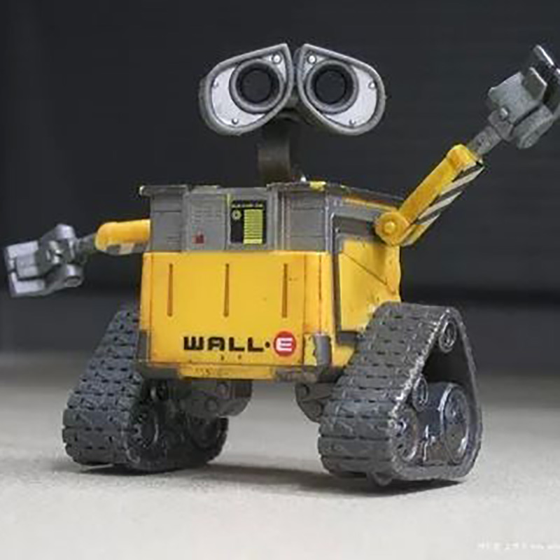 New Design Wall.E PVC Action Figure Anime Figure Collectible Model Kids Toys For Boys Girls Children With Free Shipping brand new animals action figure toys mother wild horse 12cm length pvc figure model toy for gift collection kids school study
