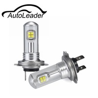 AutoLeader A18 H4 H7 H11 1 쌍의 안개 램프 낮 실행 빛 자동차 자동차 조명 H1 H3 H16 9005 9006 1500lm 화이트 6000 천개 80