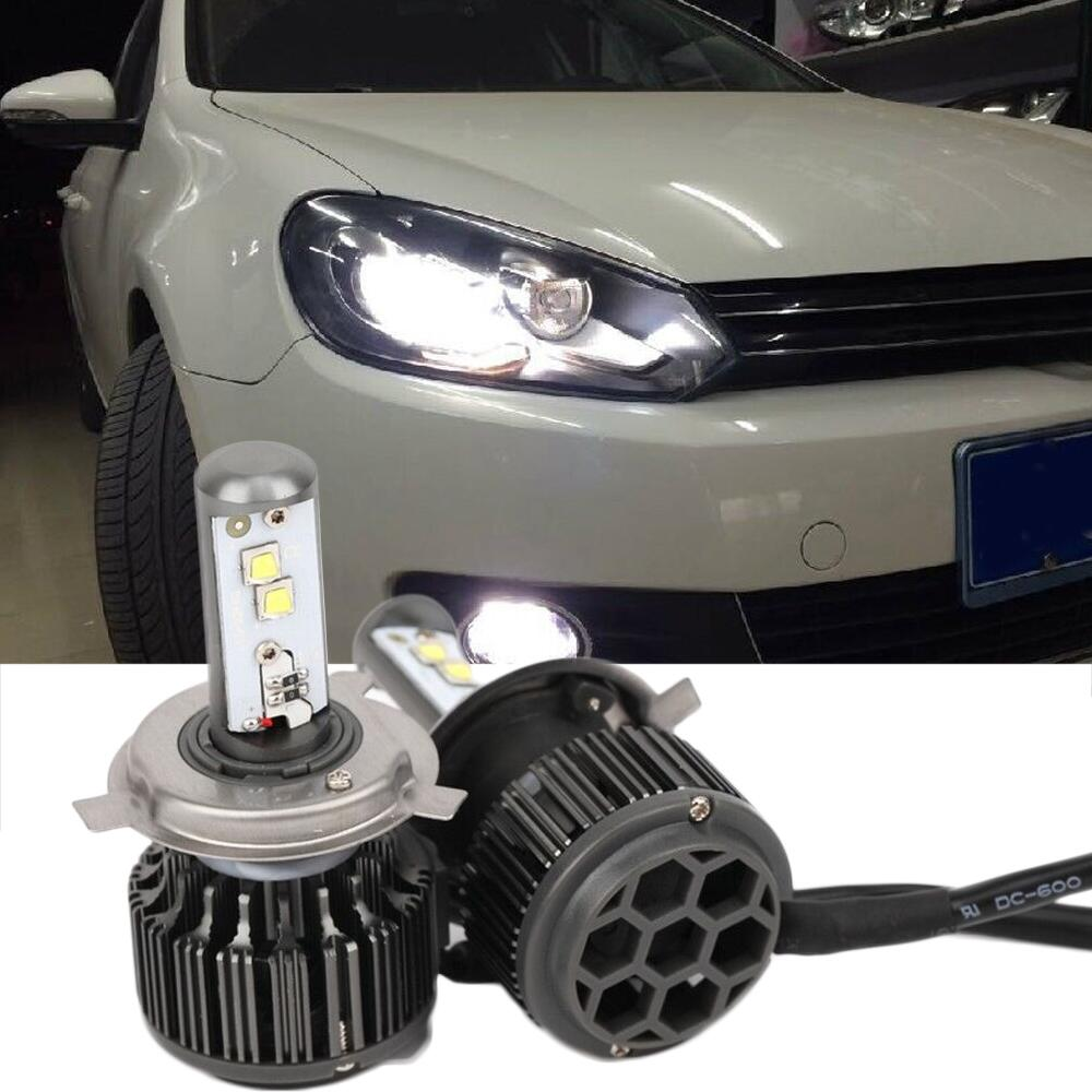 LED Car Headlight H4 40W 8000LM 24V Super Bright Auto Bulb White Light Fog Lamp DRL Plug&Play Kit Auto Replacement Parts