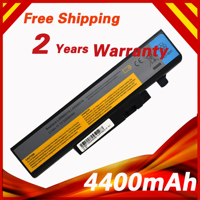 4400mAh Laptop Battery 57Y6440 L09N6D16 For Lenovo IdeaPad Y460 Y460A Y460AT Y460N Y560 Y560 Y560A-IFI Y560P-IFI