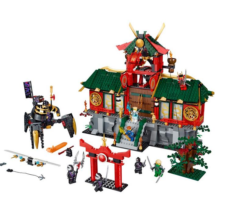 New Battle for Ninja City Model Building Blocks Toys Dream For Children Compatible Lepin 70728 Bricks a toy a dream lepin 15008 2462pcs city street creator green grocer model building kits blocks bricks compatible 10185