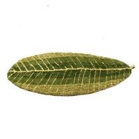 Green Leaf Shape Mat Microfiber Doormat Carpet 45 120cm 70 140cm Absorbent Slip Resistant Vacuum Pad