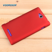 VOONGSON TPU Silicone Gel Case Cover For Sony Xperia C CN3 S39H C2305 New High Quality Skidproof Matte Mobile Phone Package Bag