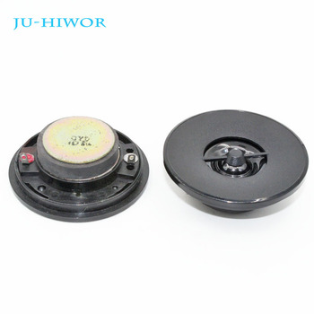 2pcs Acoustic Loudspeaker 4 Ohm 5W, 50MM Mini Tweeter Speaker Black Hat External Magnetic image