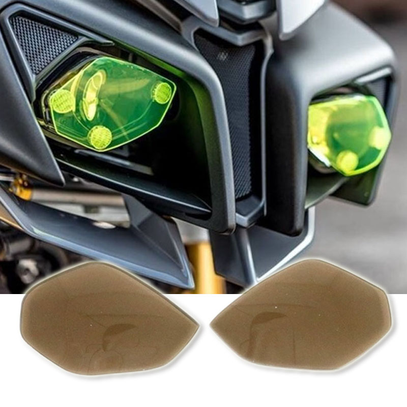 For YAMAHA YZF R1 YZFR1 2015 2018 YZF R6 YZFR6 2017 2018 YZF R1 R6 MT 10 MT10 Headlight Guard Head Light Lens Cover Protector in Covers Ornamental Mouldings from Automobiles Motorcycles