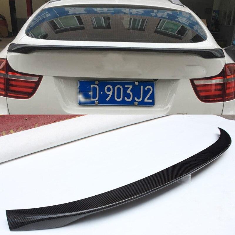 P Style fiber de Carbone Troncs Sopiler Fit Pour BMW E71 X6