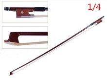 v1000 High quality violin bow size 1/4 violino Bow Horse hair violin accessory bow accessories para violino