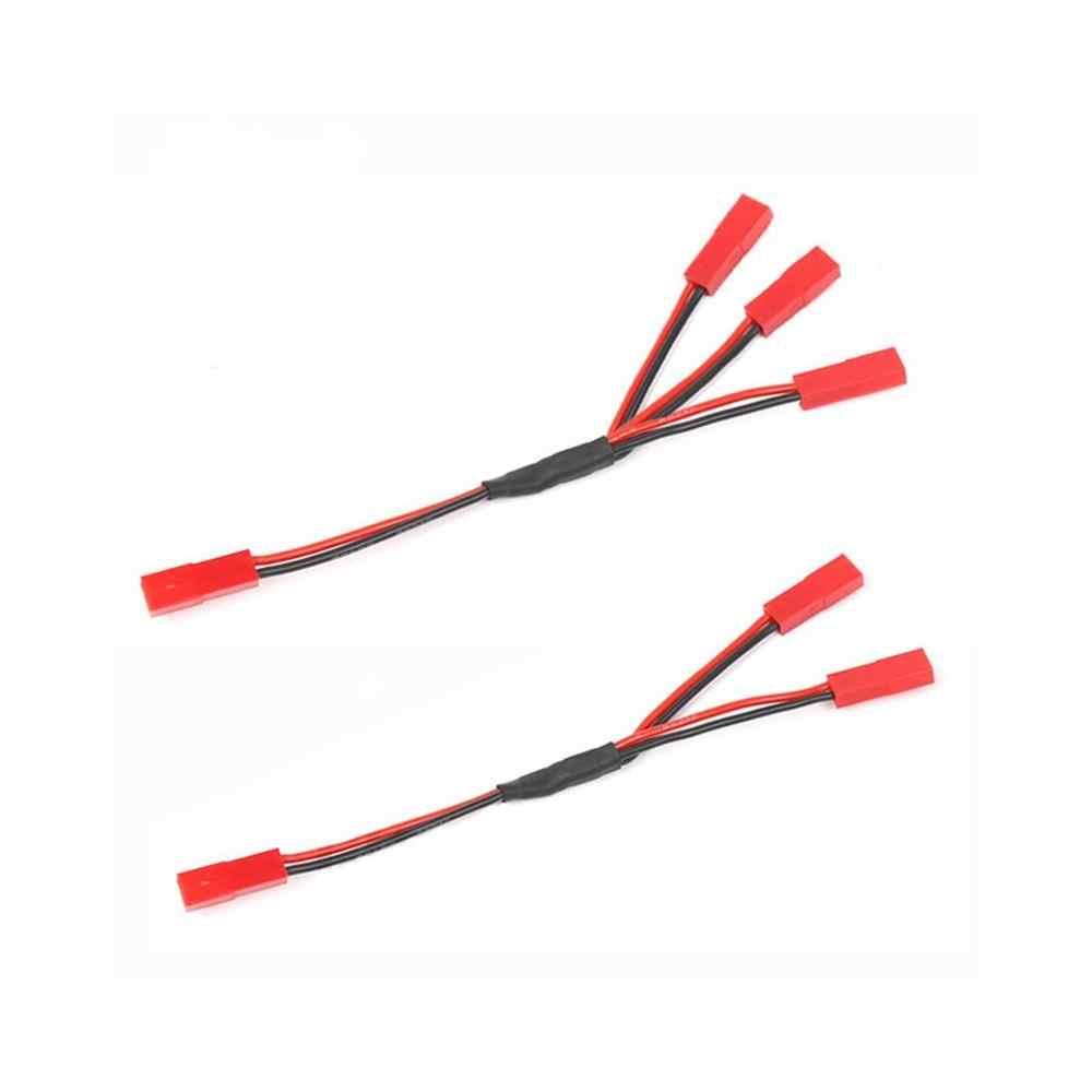 1 piezas TRX4 ESC batería hembra JST conector Y Cable para 1/10 RC Crawler coche Traxxas TRX-4 82046-4