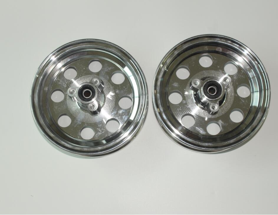 8 inch aluminum rim with disc hub in one set monkey bike dax aluminum rim include