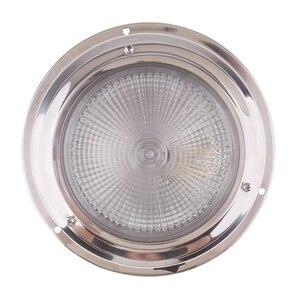 Image 2 - 12 فولت LED ضوء تحتي مريح كول/دافئ نجفة بيضاء مصباح تحت المقصورة الداخلية ضوء ل RV يخت قافلة الخ مقاوم للماء عدسة