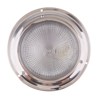 led warm white 12V LED Recessed Down Light Cool/Warm White Ceiling Lamp Under Cabin Interior Light For RV Yacht Caravan Etc Waterproof Lens (2)