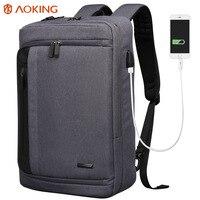 1Business backpack leisure backpack men's laptop bag massage hand satchel