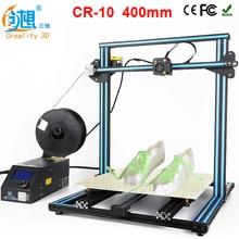 Из Металла Рамка, линейные направляющие для XZY axix, высокое качество точность Prusa I3 плюс creality 3D CR-10 400*400 * 3D принтер DIY Kit