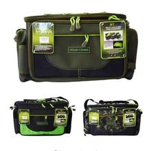 Three Colors Waterproof Fishing Bag 45x15x25cm Multifunctional Carp Fishing Package Bolsa De Pesca Fishing Tackle Lure Rod