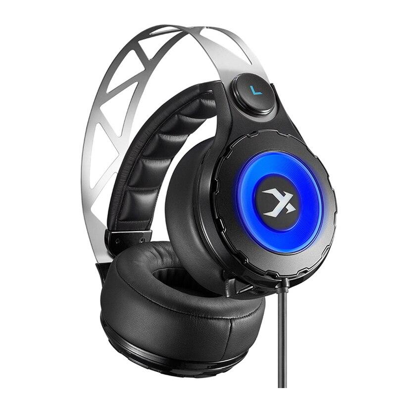 XIBERIA T18 Stereo Gaming Hoofdtelefoon met Microfoon 7.1 Surround Sound Deep Bass Gamer Headset voor Computer Beste casque - 2