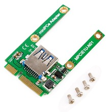 Mini PCI-E Card Слот Расширения USB 2.0 Интерфейс Адаптер Riser Card Высокое Качество