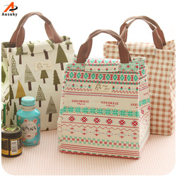 Новые портативные термальные сумки для ланча для женщин и мужчин, многофункциональные большие вместительные сумки-тоут для хранения еды, д...