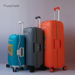 Travel Belt  High capacity Women Ultralight Rolling Luggage Spinner 20 inch Cabin Suitcase Wheels 28 inch Men Travel Bags
