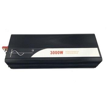 pure sine wave inverter 3000W new DC 12V 24V 48V to 110V 220V car  solar  power inverter 1