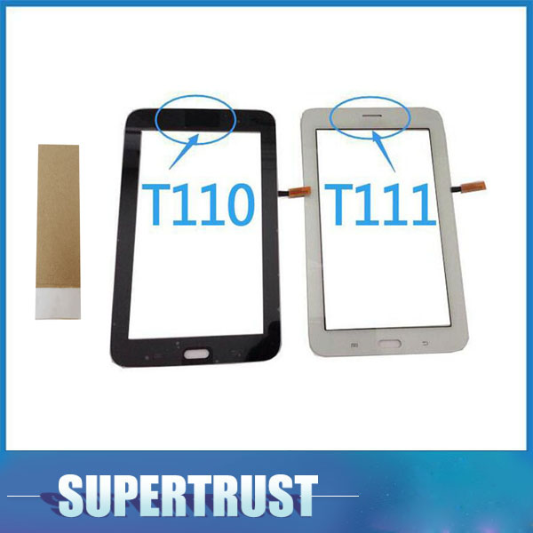Black w//Adhesive Samsung Galaxy Tab 3 Lite SM-T110 7.0 Touch Screen Digitizer