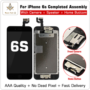 Image 4 - AAA Quality 100% Good Working Replacement  For iPhone 6 S P  7G  LCD Digitizer Touch Screen Completed Assembly With Parts+Gifts