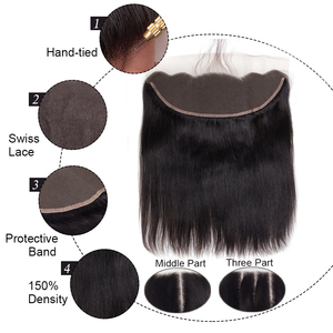 Image 3 - Celie Straight Hair Bundles With Frontal 3 Bundles With Closure Human Hair Bundles With Frontal HD Lace Frontal And Bundles