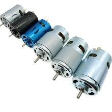 DC Motor 6V/7.4/12V/18V/24V 3000-15000RPM High Speed Large torque DC 390/540/550