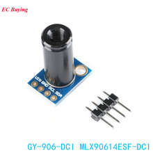 MLX90614ESF DCI Sensor Module MLX90614 Infrared Temperature Sensors GY 906 DCI IIC Connector Long Distance Electronic DIY PCB