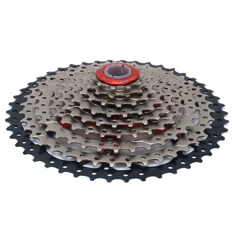 BOLANY 9 27S 11-46T Single Speed Mountain Bikes Mtb Wide Ratio Bicycle Cassette Parts Sprockets