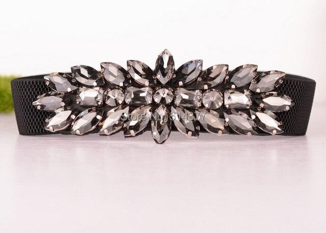Rhinestone Elastic Belt 2015 new  Korean wild ladies luxury clothes  accessories    waist chain   womens belts