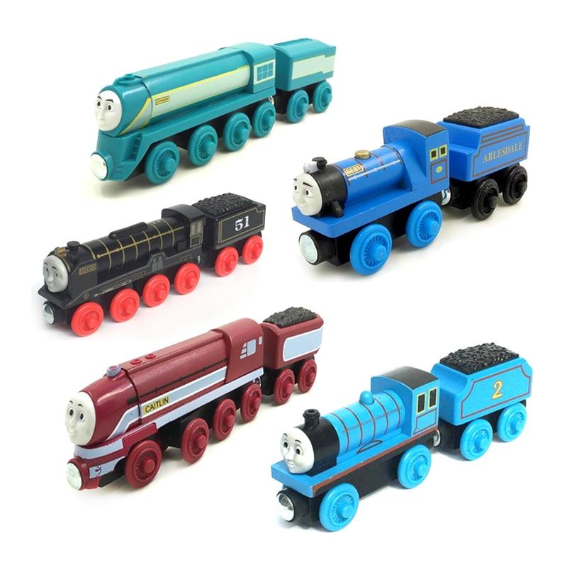 w54 Thomas and Friends Dart,Philip,ryan, diesel,Crovans Gate Minin,WHIFF,Den version Wooden Magnetic Train Models Kids Gifts