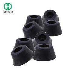 WHISM Резиновые Круглые фурнитура для столов и стульев ноги ногу колодки плитка защита для пола M8 усеченного конуса Тип стулья углу держателя