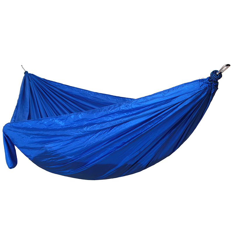 Ultralight Portable Hammock Outdoor Leisure Relax Hanging Swing Hamac Double Person Durable Camping Hanging Bed 270*140cm 1 2 person outdoor mosquito net parachute hammock camping hanging sleeping bed swing portable double chair hamac army green