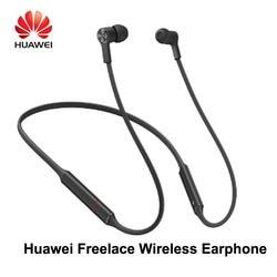 Original Huawei FreeLace Wireless Earphone Bluetooth Sport waterpoof IP55 in-ear Memory Cable Dynamic Earphone For mobil  Phone