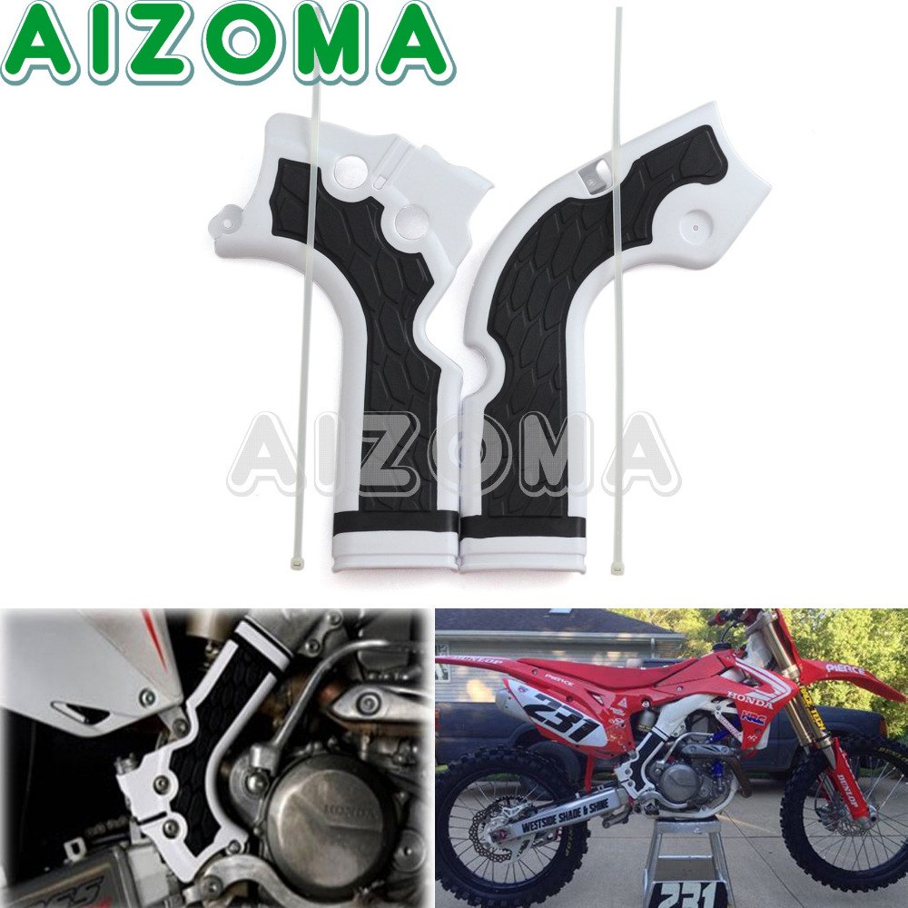 Motorcycle X-Grip Frame Guards Motocross Enduro Frameguard Protection For Honda CRF 250 450 R  CRF250R CRF450F  2013-2016 2014