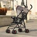Cierre fácil súper ligero carro buggiest paraguas coche de bebé plegable carro de la compra